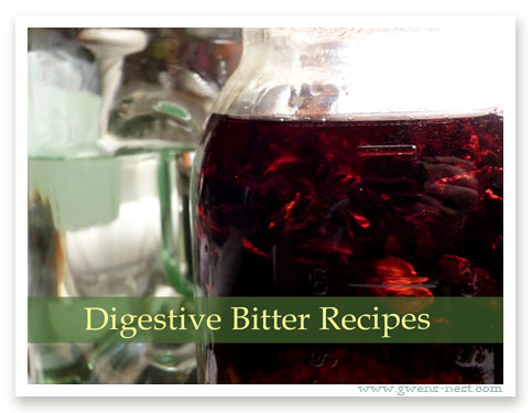 Digestive Bitters Recipes Part 3 | Gwen's Nest