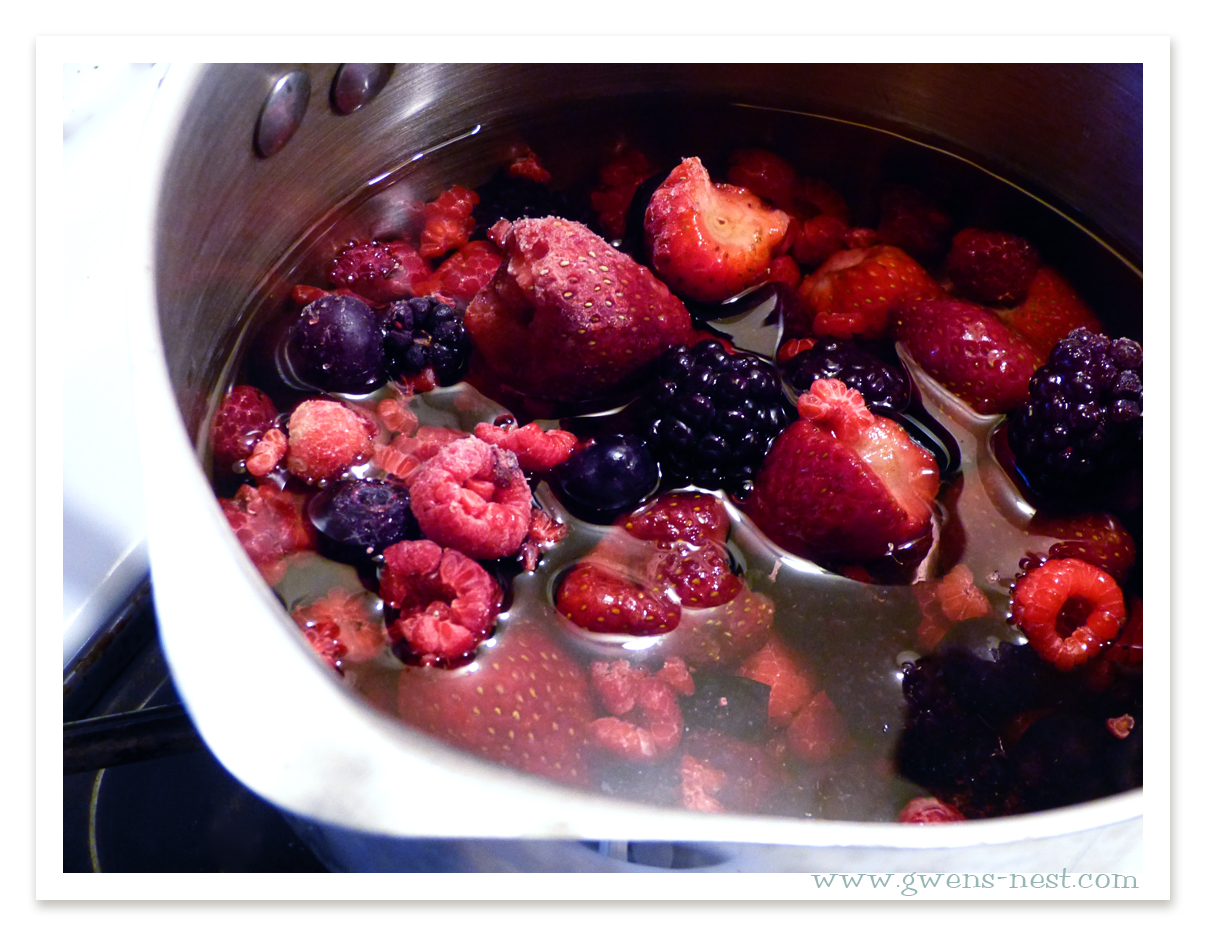 berry syrup recipe