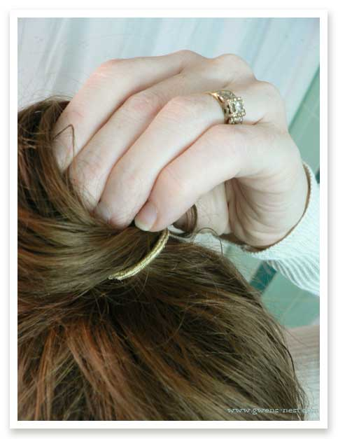how to get rid of hair sticking out