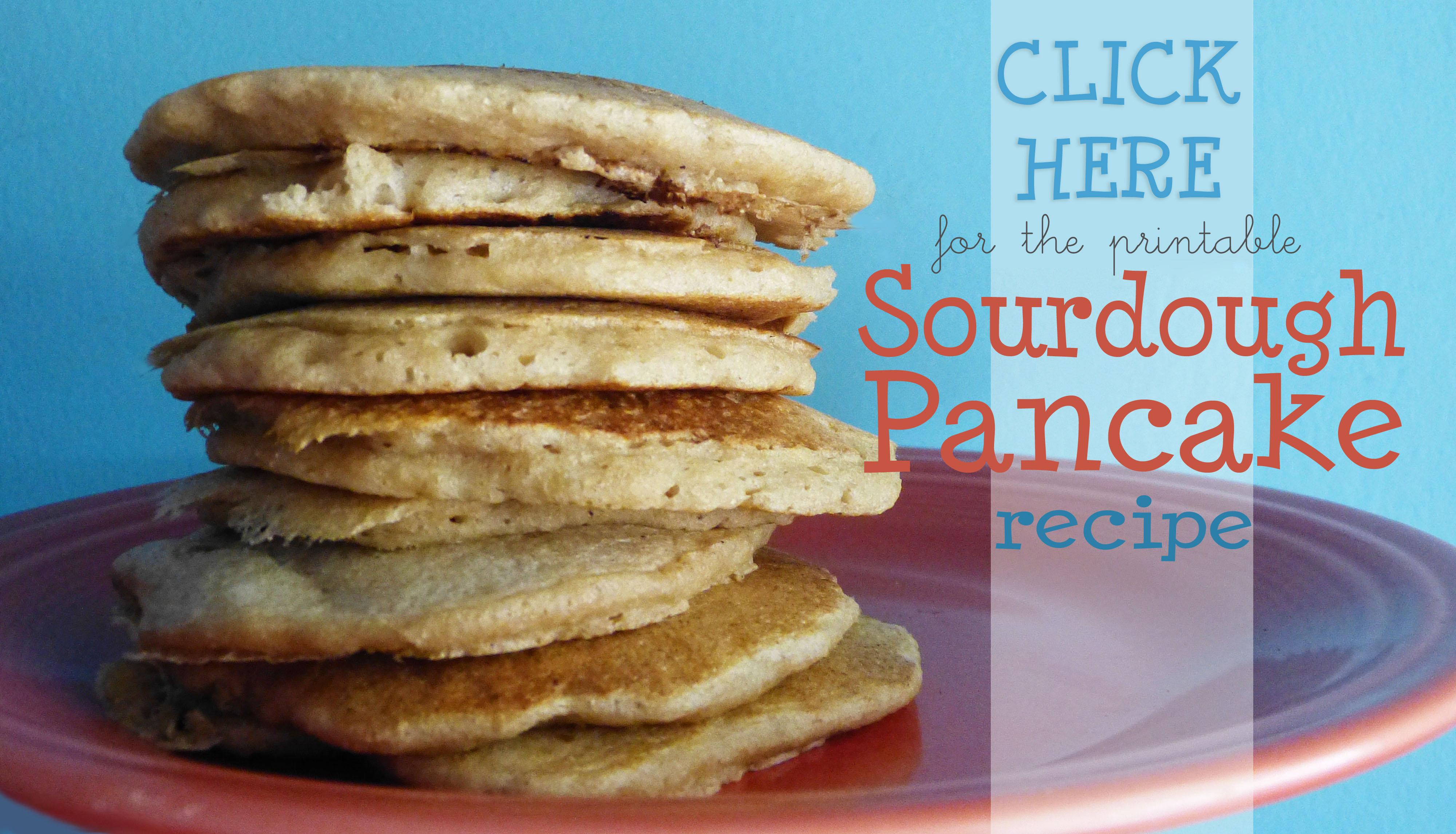 sourdough pancake click here